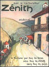 Publicité ZENITH Automobile Accessoires  car vintage ad  1926 -10i