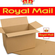 10 X Deep Max Size Royal Mail Small Parcel Packet Postal Boxes 450x350x160mm