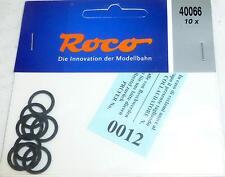10 Stück Haftringe Gleichstrom Räder Roco 40066 Durchmesser 12,5-13,8 mm  #   µ