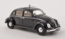 wonderful modelcar VW BEETLE ROMETSCH 4-door TAXI 1952 -  black - scale  1/43