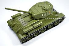 1:24 T34 tank model Soviet medium tank of World War II metal tank model rare