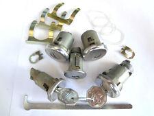 Olds Cutlass & F-85  Ignition Door Trunk Glove Box Original Key Lock Kit 1972