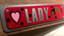 Horse Stable Accessories Pony Field Shelter Name Plates Equine Parts-Plaques1