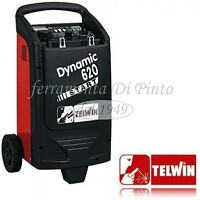 Ladegerat Starter Profi Auto Motorrad Telwin Dynamic 620 Batterie