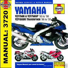 Yamaha YZF750 YZF750R & YZF1000 YZF1000R Thunderace 1993-2000 Haynes Handbuch