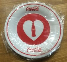 Coca-Cola Happiness Plate White dish Not for sale Japan