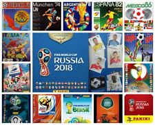 Panini album FIFA WORLD CUP COLECTION FROM 1950 TO RUSSIA 2018 + GIFT NO STICKER