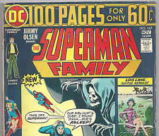 DC THE SUPERMAN FAMILY #167 100 Pages Supergirl from Nov. 1974 in VG condition