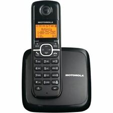 Cordless Home Phone Wireless Handset Speakerphone & Caller ID LCD Display Black