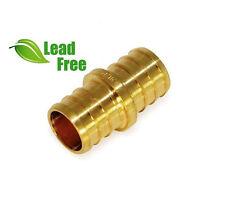 Lot Of 10 1 Pex Couplings Brass Crimp Fittings Lead Free Epcp0100 Nl