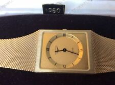 Longines Gold Plated Case Unisex Wristwatches