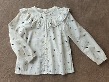 Girls Size 10 Country Road Gorgeous Autumn Leaf Print Blouse
