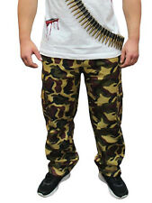 Army Men Camouflage Complete Accessories Trouser T-Shirt Hat Dog Tag Bullet Belt