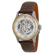 Oris Artelier Automatic Skeleton Dial Mens Watch 734-7670-4351LS