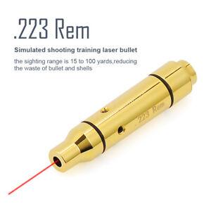 .223 REM Red Dot Laser Training Bullet For Dry Fire Training Shooting Simulator