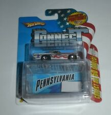 2009 HOT WHEELS CONNECT CARS '57 THUNDERBIRD PENNSYLVANIA # 2 OF 50