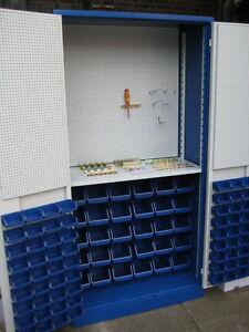 Magazinschrank Werkstattschrank Werkzeugschrank  Kleinteileschrank KFZ