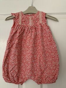 Baby Girls Gorgeous Wide Floral Romper Marks & Spencer 12-18m