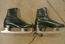 Vintage Black Ice Skates - Size 10 or 11? (Used) Aerflyte