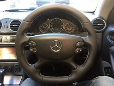 Mercedes SL CLK CLS E Class Steering Wheel Upgrade Leather  AMG