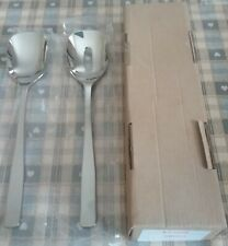 Alessi Stainless Steel Salad Servers NEW Boxed AJM22/14