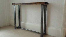 Hallway Console table rustic industrial style 100 cm