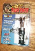NEW-in-PACKAGE BUCK GARDNER WORKIN' MAN series TWO SHOT DUCK CALL - GAME CALL