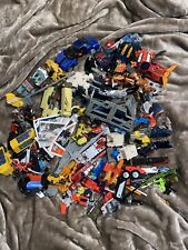 Transformers 10lb+ Toy Lot Various Generations Parts Figures Weapons