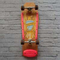 Vtg 80s Edwards Geoff Wright Skateboard Santa Cruz Bullet Wheels Power Pivot