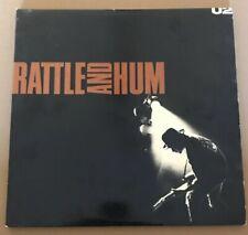 U2!!! RATTLE AND HUM!! ORIG. 1988 VINYL DOUBLE LP!!