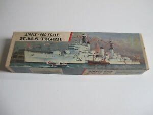 Airfix 1/600 HMS Tiger sehr alter Bausatz, Neu in OVP