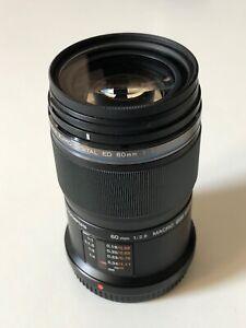Olympus EM-M6028 M.Zuiko Digital ED 60mm f/2.8 Micro Four Thirds Mount Macro Len