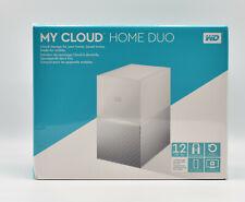 WD MY CLOUD™ HOME DUO, 12 TB, 3.5 ZOLL, NAS, WEISS, Festplatte NEU OVP