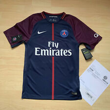 Nike Neymar Jr. Trikot Gr: S / P + Rechnung Paris Champions League 2017/18 Shirt