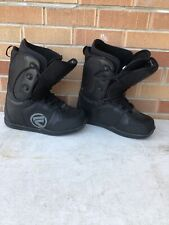 Flow Vegalace Snowboard Boot Black US 11.5