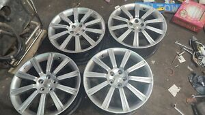 "Subaru STi 18""Set of 4 Original Alloy Wheels from a forester."