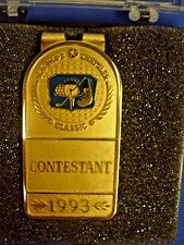 Vintage Bob Hope Money Clip PGA Chrysler Classic Golf Tour Contestant 1993 NIB