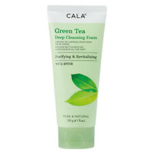 Green Tea Deep Cleansing Foam Mousse Purifying & Revitalizing by Cala - 4.1 oz