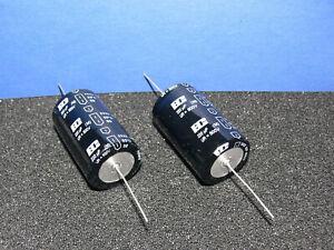 220uF 500V Vishay axial Elko / Elektrolyt Kondensator 2 Stk pcs Set