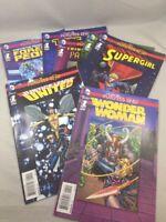 Futures End 1 Shots Lot of 7 DC Comics 2014 VF Wonder Woman Justice League