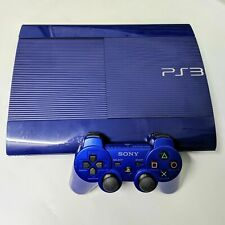 Sony PlayStation 3 PS3 250GB System Console Blue Azure CECH-4201B - 100% Tested!