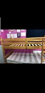 Modern Single Bunk Bed Frame for Adult or Children