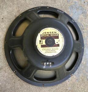 "1964 Jensen Guitar Amplifier Speaker. 15"". Jensen Special Design."