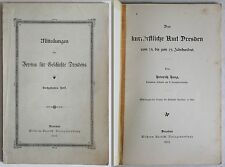 Haug: Los sajones Amt Dresden del 14. hasta la 19. Siglo -1902 - xz