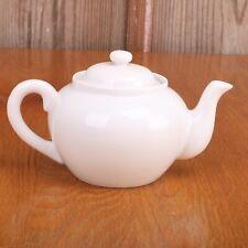 White Porcelain Teapot Shape Potpourri Burner Incense