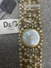 D&G DW0244 - Dolce & Gabbana Risky Gold & Crystal ladies Watch