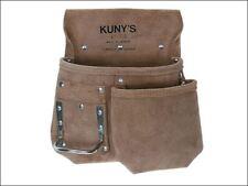 Kunys AP-719 Journeyman Leather Nail Tool Pouch Hammer Loop Half Apron AP719
