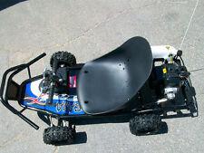 49cc Gas powered GO KART Off Road cart ScooterX Baja Blue mini kid motor scooter