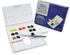 Winsor & Newton Watercolor Compact Colman Water Colors 14 Half Pans