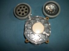 Lot of 3  W.E. Trimline rotary phone  Receiver Transmiter, Dial For Parts!